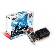 Видеокарта MSI PCI-E 3.0 16x AMD Radeon R7 240 64bit 2Gb DDR3 R72402GD364BLP