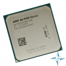 процессор Socket AM4 AMD ZEN Processor A6-9500 (1M cash , 65W , Cores 2, desktop CPU) #Part Number AD9500AGM23AB