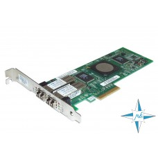 Контроллер Fibre Channel QLOGIC QLE2462-HP PX2510401-69 4GB Dual Port Pci-E HBA