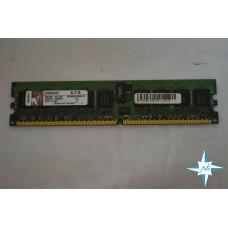 Модуль памяти DDR-2 ECC Reg DIMM, 1 Gb, Kingston KVR400D2D8R3/1G, 400 Mhz, PC2-3200