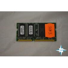Модуль памяти SDRAM NonECC Unbuf SO-DIMM, 128 Mb, Toshiba THLY6416G1FG-80, 144-Pin, 100Mhz