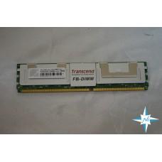 Модуль памяти DDR-2 ECC FB DIMM, 2 Gb, Transcend  (TS128MFB72V6J-T), 667 MHz, PC3-5300