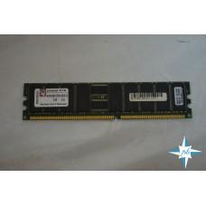 Модуль памяти DDR ECC Reg DIMM, 512 Mb, Kingston, 266MHz, CL2.5, 184-Pin, Single Rank Memory, PC2100