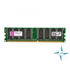 Модуль памяти DDR noECC Unbuf DIMM, 1 Gb, Kingston KVR400X64C3A/1G, PC3200