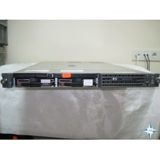 "SERVER 1U RM 19"" - HP ProLiant DL360 G4, 2x DualCore Xeon 3.2G/800, 4 Gb RAM, SCSI  HP Disk Array 2*146 Gb"