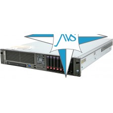 "SERVER 2U RM 19"" - HP ProLiant 380 G5, CPU 2x Dual-Core Processor X5060, 16 Gb DDR2 FB RAM, SAS Smart Array HP P400, SAS 146 Gb * 8"