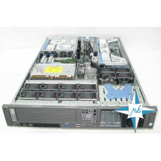 "SERVER 2U RM 19"" - HP ProLiant 380 G5, CPU 2x Quad-Core Processor E5420, 32 Gb DDR2 FB RAM, SAS Smart Array HP P400, SAS 300 Gb * 8"