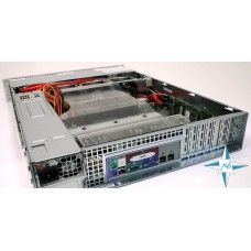 "SERVER 2U RM 19"" - SuperMicro PDSME+, DualCore Intel Pentium D 925, 3000 MHz,4 Gb RAM, Adaptec Array SCSI Disk Device (136 ГБ)"