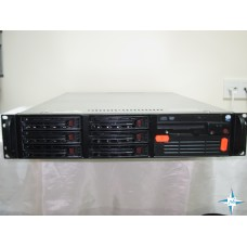 "SERVER 2U RM 19"" -  SuperMicro PDSM4+, Xeon 3040 DualCore 1800 Mhz, 4 Gb RAM, Adaptec Array SCSI Disk Device  (273 ГБ)"