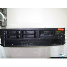 "SERVER 3U RM 19"" - NEWISYS 3U4P, 4x DualCore AMD Opteron 875, 16 Gb RAM, SCSI LSILOGIC Disk Array 2*73 Gb"