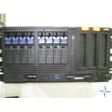 "SERVER 4U RM 19"" - Tyan S4881 (Thunder K8QW ), CPU 4x DualCore AMD Opteron 875, 32 Gb RAM, SCSI MEGARAID Disk Array 750 Gb"