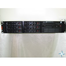 "SERVER 2U RM 19"" - SuperMicro PDSME+, Xeon 3210 QuadCore 2130 Mhz, 4 Gb RAM, Adaptec SATA Array (2,0 TБ)"