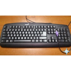 Клавиатура Genius KB-110, black, USB