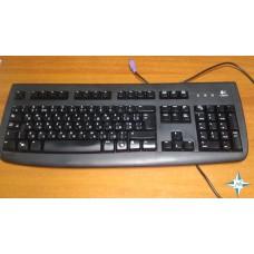 Клавиатура Logitech DeLuxe 250, black, PC/2