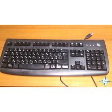 Клавиатура Logitech DeLuxe 250, black, USB