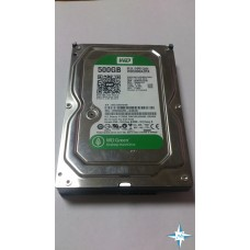 "HDD 3.5"" SATA-III 500Gb W D Green 64Mb WD5000AZRX"