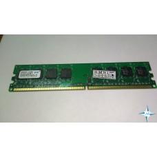 Модуль памяти DDR-2 noECC Unbuf DIMM, 512 MB, PQI, 240 pin, CL5, MEAER322LA/512, DDR2-800, 1Rx8, 1.8V