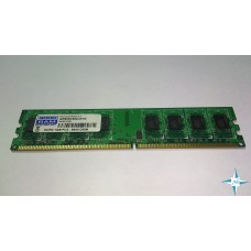 Модуль памяти DDR-2 noECC Unbuf DIMM, 1 GB, GoodRAM, 240 pin, CL3, GR800D264L6/1G, DDR2-800, 2Rx8, 1.8V