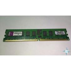 Модуль памяти DDR-2 ECC Reg DIMM, 2 Gb, Kingston KVR800D2D8P6/2G, 800 Mhz, PC2-6400