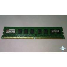 Модуль памяти DDR-2 ECC Unbuf DIMM, 2 Gb, Kingston KVR800D2E6/2G, 800 Mhz, PC2-6400