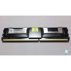 Модуль памяти DDR-2 ECC FB DIMM, 4 Gb, Nanya NT4GT72U4ND1BD-3C, 667MHZ PC2-5300 CL5