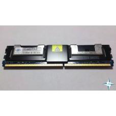 Модуль памяти DDR-2 ECC FB DIMM, 4 Gb, Nanya NT4GT72U4ND1BD-3C, 667MHZ PC2-5300 CL5