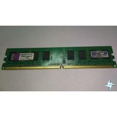 Модуль памяти DDR-2 noECC Unbuf DIMM, 1 GB, Kingston, 240 pin, CL3, KVR667D2N5/1G, DDR2-667, 1Rx8, 1.8V