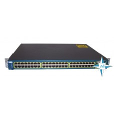 Коммутатор Cisco 2950-48 10/100 48-port, 1000 Base X 2-port (GBIC)