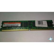 Модуль памяти DDR-2 ECC Reg DIMM, 1 Gb, Hynix, 400MHz, CL2.5, PC3200R (HYMP512R72P4-E3)
