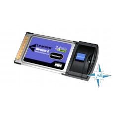 Сетевой адаптер беспроводный Linksys WPC54G 802.11G Wireless PCMCIA Card