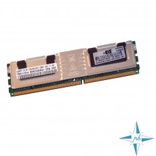 Модуль памяти DDR-2 ECC FB DIMM, 1 Gb, Samsung, M395T2953EZ4-CE66, 667MHz, CL5, PC2-5300F