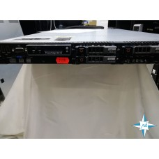 "SERVER 1U RM 19"" Dell PowerEdge R610 2xSixCore Intel Xeon X5650 2.66 GHz SAS Raid Controller PERC H200"