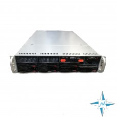 "SERVER 2U RM 19"" - SuperMicro X8DTN+-F, 2x QuadCore Intel Xeon X5570, 2.93 GHz, 16 Gb DDR3 ECC RAM , SAS/SATA Disk BackPlane"