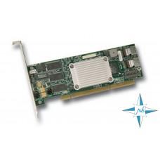 Контроллер SATA Raid Controller LSI SATA 300-8XLP 128 МБ 8 портов