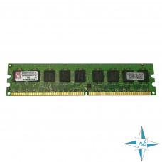 Модуль памяти DDR-2 ECC Unbuf DIMM, 1 Gb, Kingston KVR533D2E4/1G, 533 Mhz, PC2-4200