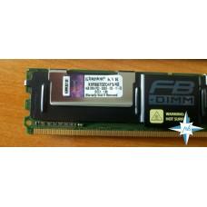 Модуль памяти DDR-2 ECC FB DIMM, 4 Gb, Kingston KVR667D2D4F5/4G, 667MHZ PC2-5300 CL5