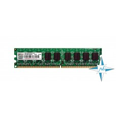 Модуль памяти DDR-2 ECC Unbuf DIMM, 1 Gb, Transcend 173247-0440/1G, 667 Mhz, PC2-5300