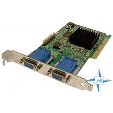 Видеокарта AGP, Matrox G45+MDHA16DLXB, 32 bit, 16MB