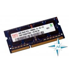 Модуль памяти DDR-3 noECC Unbuf SO-DIMM, 2 Gb, Hynix HMT125S6TFR8C-H9, PC3-10600S