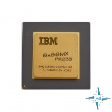 процессор Socket 7 IBM 6x86MX Processor PR233 (64К Cache, 233 MHz, 75 MHz FSB) #Part Number BVAPR233GF