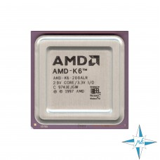 процессор Socket 7 AMD K6 Processor 200ALR (32К Cache, 200 MHz, 66 MHz FSB) #Part Number 200ALR
