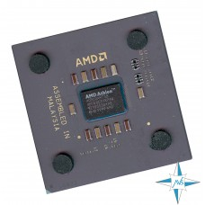 процессор Socket A AMD K7 Processor Athlon 900 (64К Cache, 900 MHz, 200 MHz FSB) #Part Number A0900AMT3B