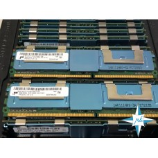 Модуль памяти DDR-2 ECC FB DIMM, 8 Gb, Micron MT36HTF1G72FZ-667C1D4, 667MHZ PC2-5300 CL5