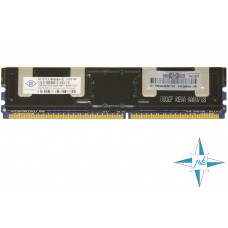 Модуль памяти DDR-2 ECC FB DIMM, 1 Gb, Nanya NT1GT72U8PB0BN-3C, 667MHZ PC2-5300 CL5