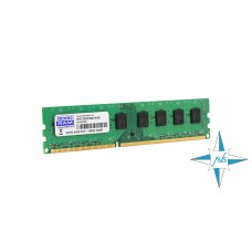 Модуль памяти DDR-3 noECC UnBuf DIMM, 4Gb, Goodram, PC3-12800 (GR1600D364L11/4G)