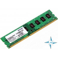 Модуль памяти DDR-3 noECC UnBuf DIMM, 2Gb, Patriot, PC3-12800 (PSD32G16002 PS000661/2G)