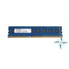Модуль памяти DDR-3 noECC UnBuf DIMM, 2Gb, Elpida, PC3-8500U (EBJ21UE8BDF0-AE-F/2G)