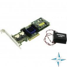 Контроллер SAS Raid Controller Adaptec ASR-6805TQ 512 МБ 8 портов