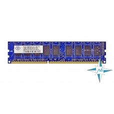 Модуль памяти DDR-3 ECC UnBuf DIMM, 2Gb, Nanya, PC3-10600E (NT2GC72B8PA0NF-BE/2G)