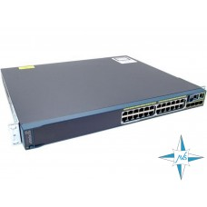 Коммутатор Cisco 2960S-24PS-L Series PoE 10/100/1000 24-port, 1000 Base X 4-port (SFP)